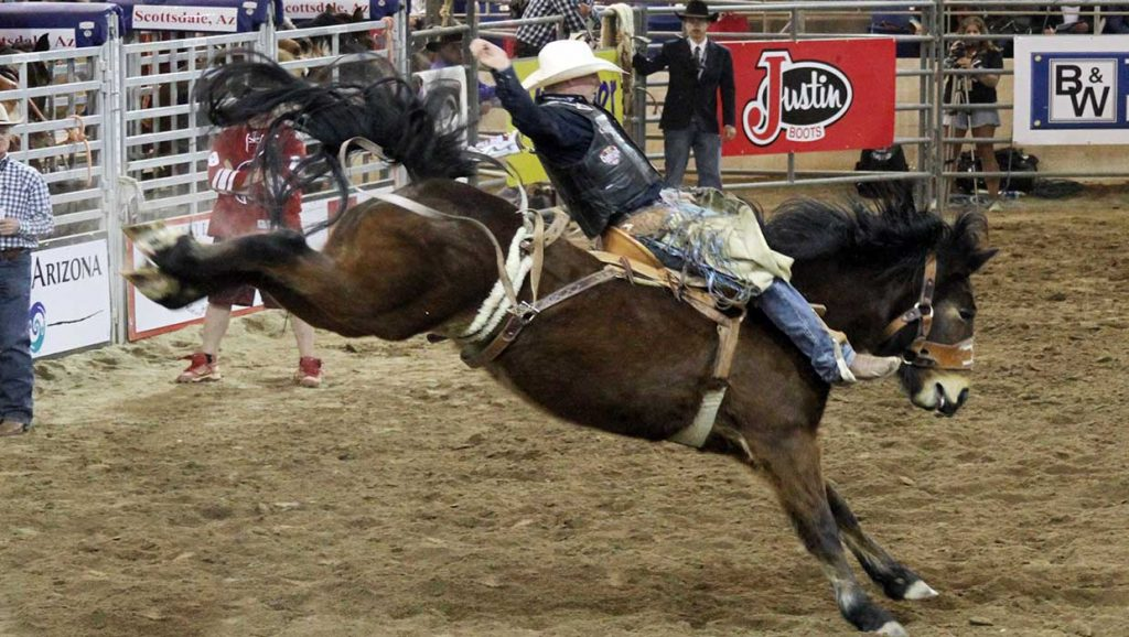 NFR Live Saddle bronc riding
